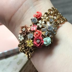 Juicy Couture bracelet vintage floral heart Spring